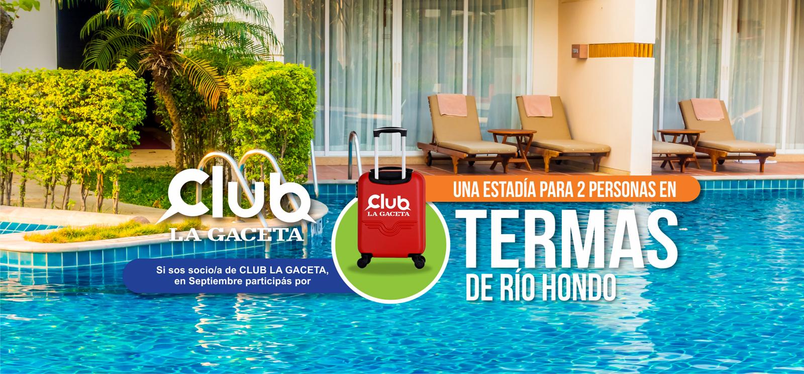 Promo Septiembre Termas de Río Hondo